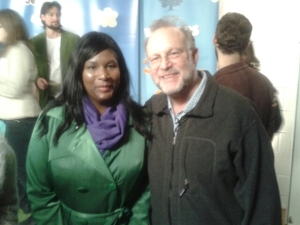 Here's me and Jerry Greenfield. My new cool pal.